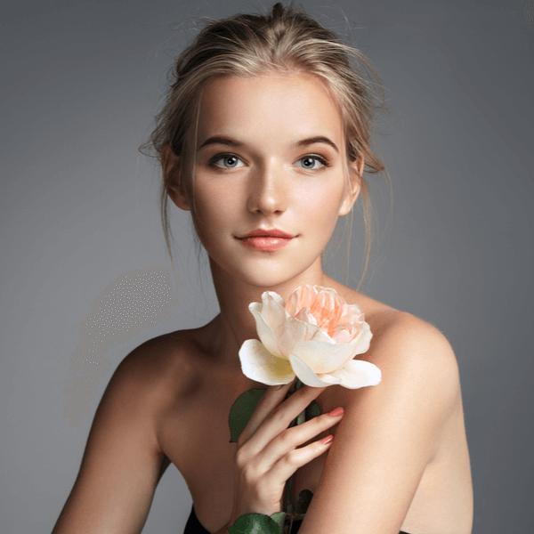 casting de modelo de maquillaje