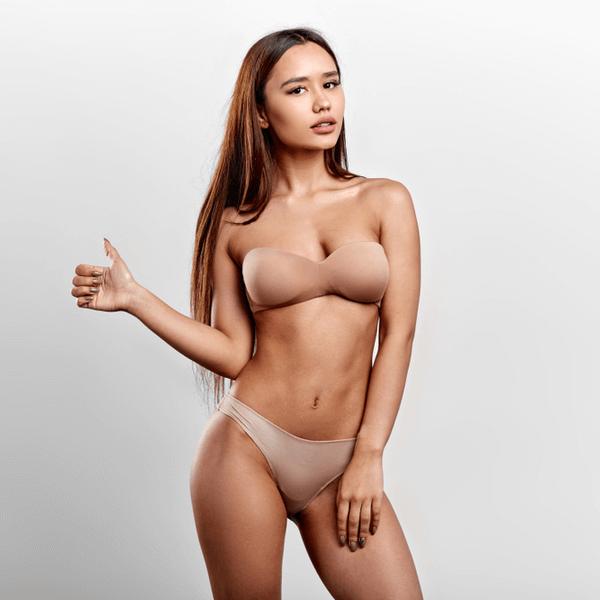 casting de modelo de lencería